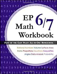 🤯 Read Online EP Math 6/7 Workbook: Part of the Easy Peasy All-in-One Homeschool