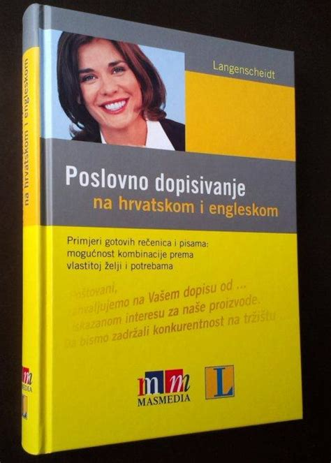 Pdf i poslovno na hrvatskom dopisivanje engleskom Poslovno dopisivanje